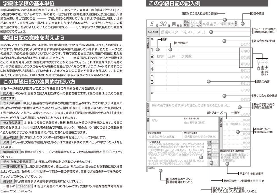 中学校学校日記2内容01